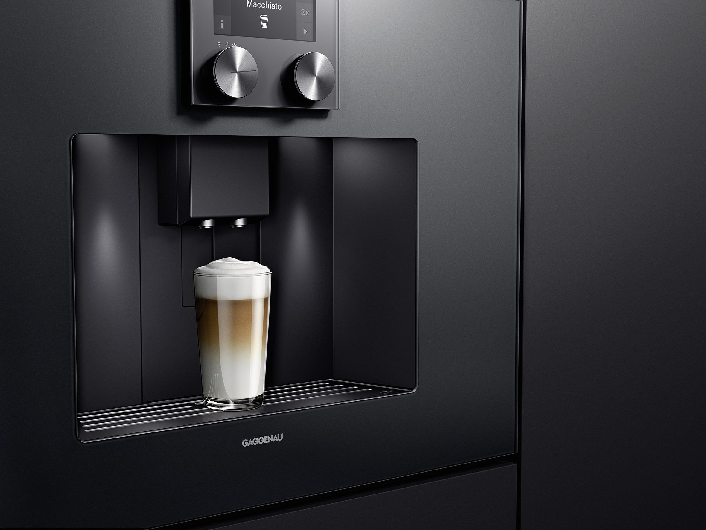 Gaggenau 400 series coffee machine from Abitalia South Coast