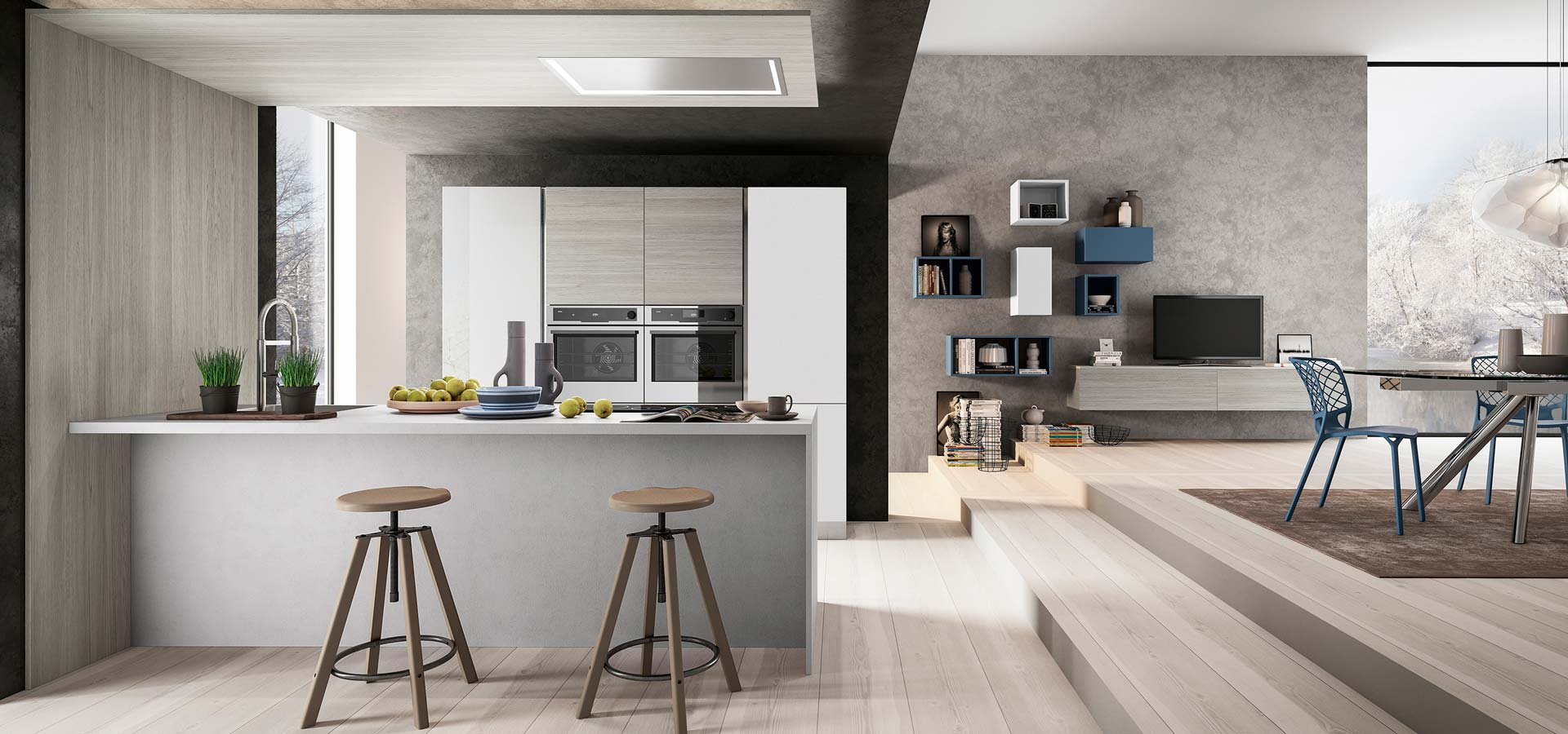 Cloe - Buy Arredo3 kitchens online from Abitalia South Coast