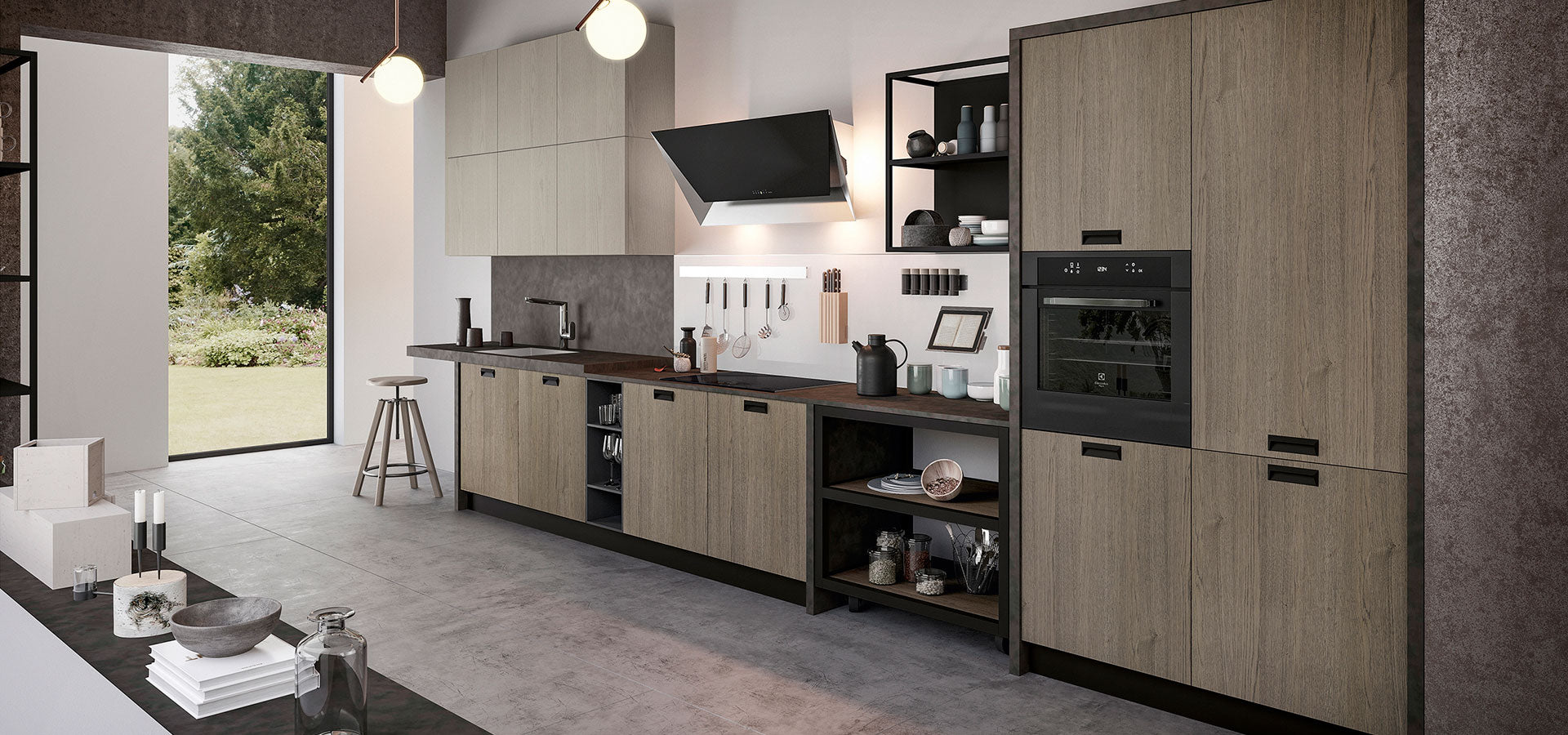 Buy the Asia Factory Kitchen by Arredo3 online from Abitalia South Coast