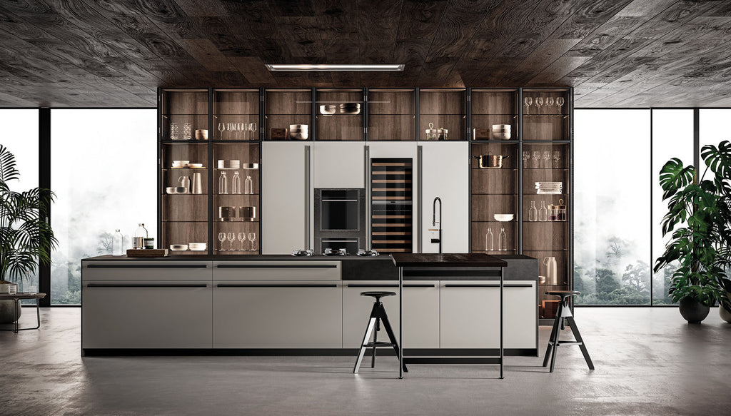 Luxury designer bespoke contemporary Italian kitchen by Effeti Cucine via Abitalia South Coast, Poole, Dorset 2