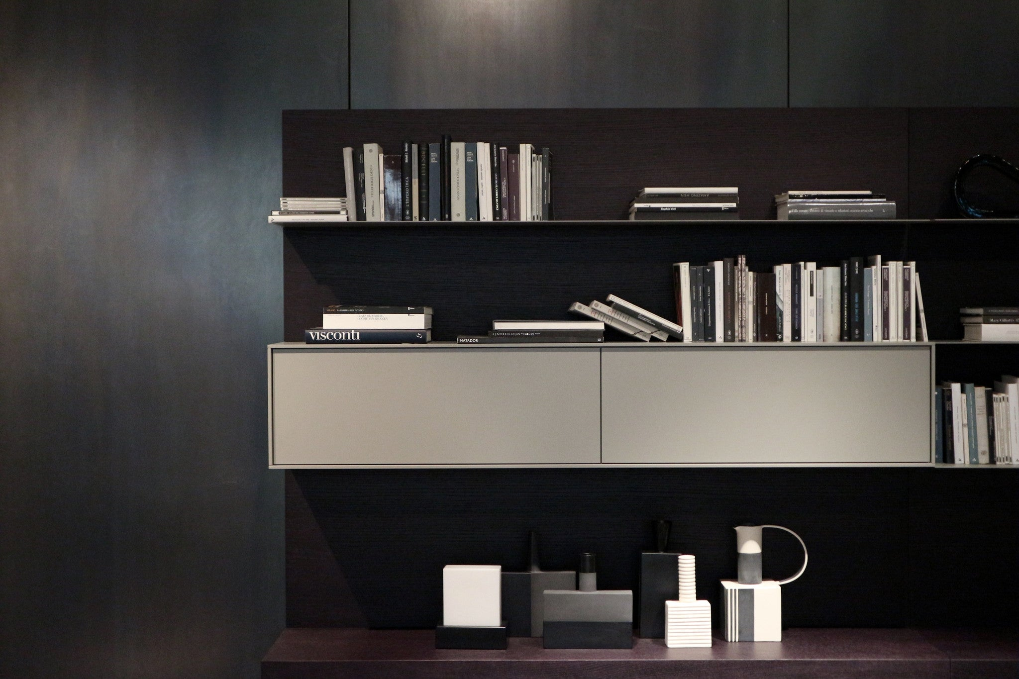 Giellesse bookcase composition - Contact Abitalia South Coast for an enquiry