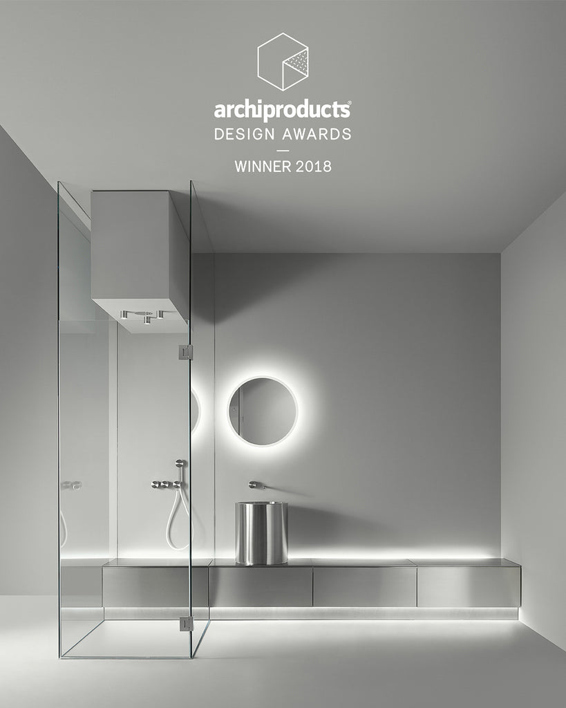 ABACO bathroom collection by CEA Design, Italy. A modular contemporary bathroom design available from Abitalia South Coast, Poole, Dorset