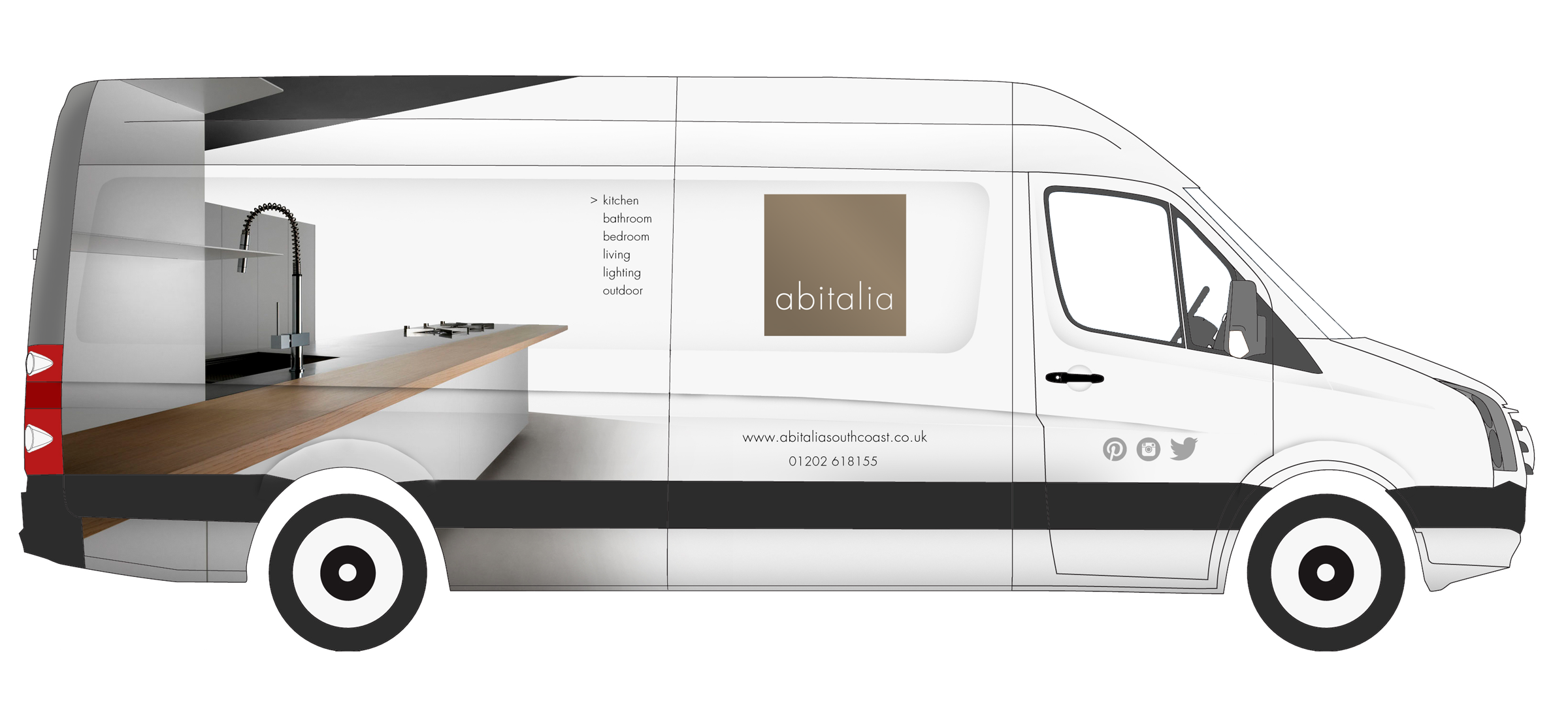 Design of new van graphics