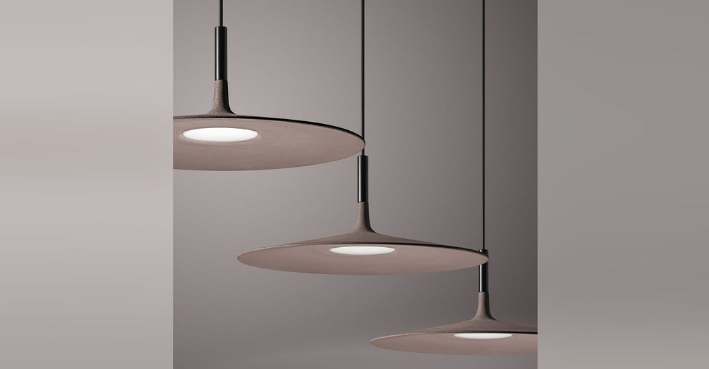 Foscarini lighting, – Aplomb Large Suspension Light, Contemporary lighting design