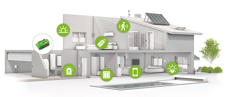 Amica Tech install Loxone Smart Home technology for Abitalia South Coast