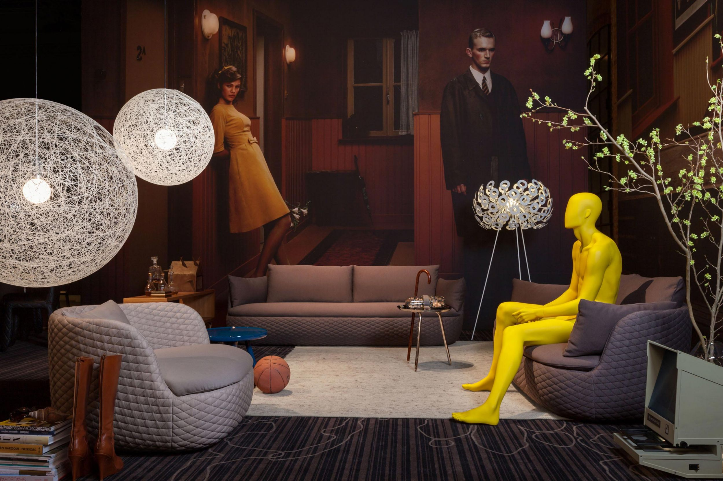 Room set of Moooi's work