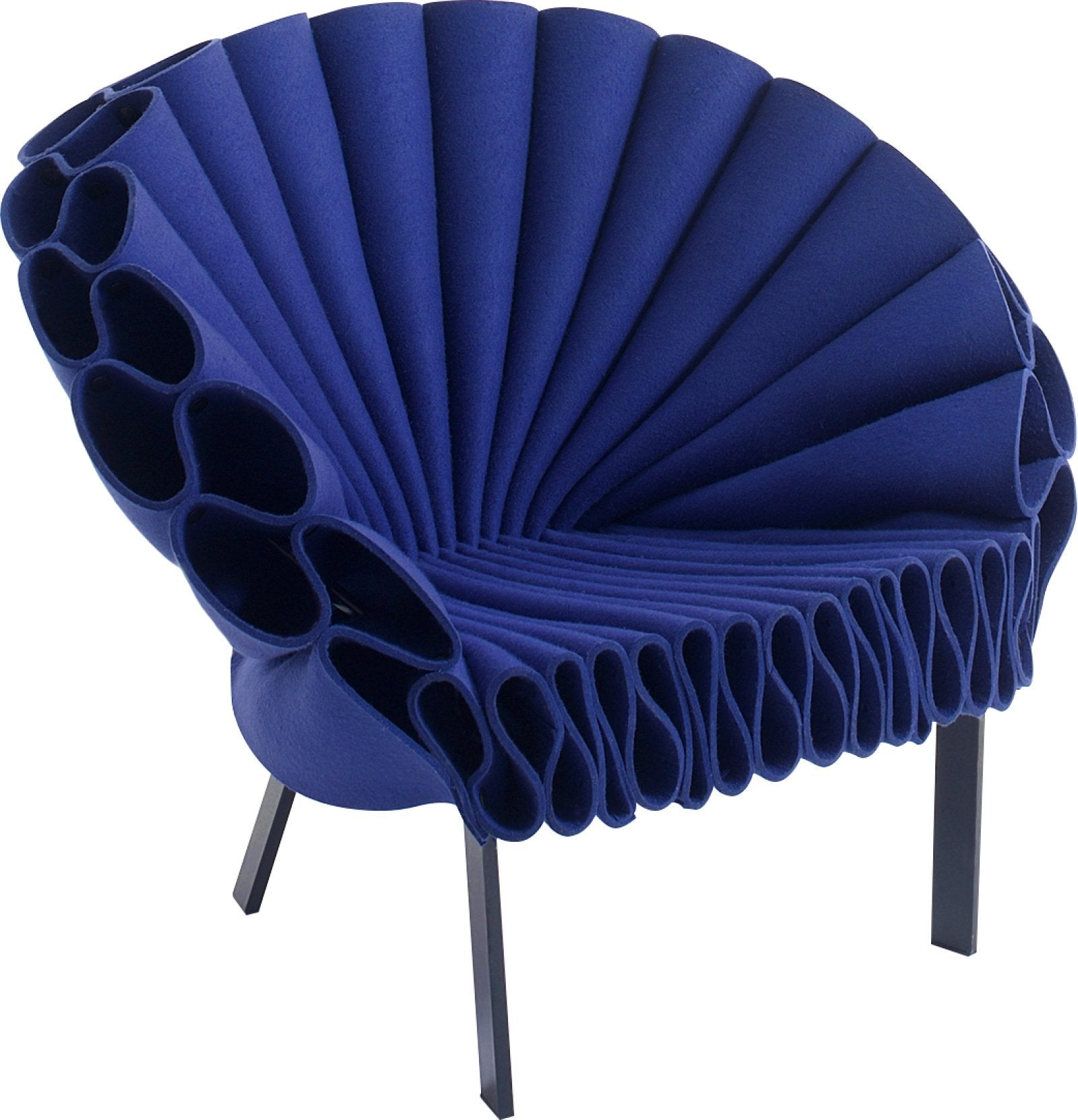 Capellini luxury blue peacock chair. Contemporary furniture and Italian  interior design 94ea6d4665fc
