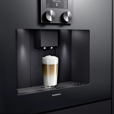 Gagggenau 400 series fully automatic espresso machine supplied by Abitalia South Coast based in Poole Dorset