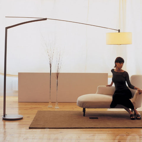 Balance floor lamp , Light - Vibia, Abitalia South Coast - 1
