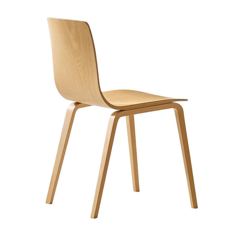 Aava 4 wood legs. Arper contemporary furniture from Italy. Modern Chairs via Abitalia South Coast - free delivery 1