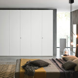 Alfa wardrobe by Novamobili, Italy. Bespoke contemporary fitted wardrobes and luxury italian design 1