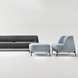 Velvet Sofa by Novamobili, Italy. Beautiful luxury Italian designer sofa 2