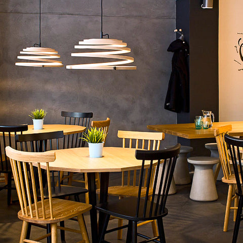 The Aspiro 8000 pendant light. Contemporary designer lighting from Finland available from Abitalia South Coast 1