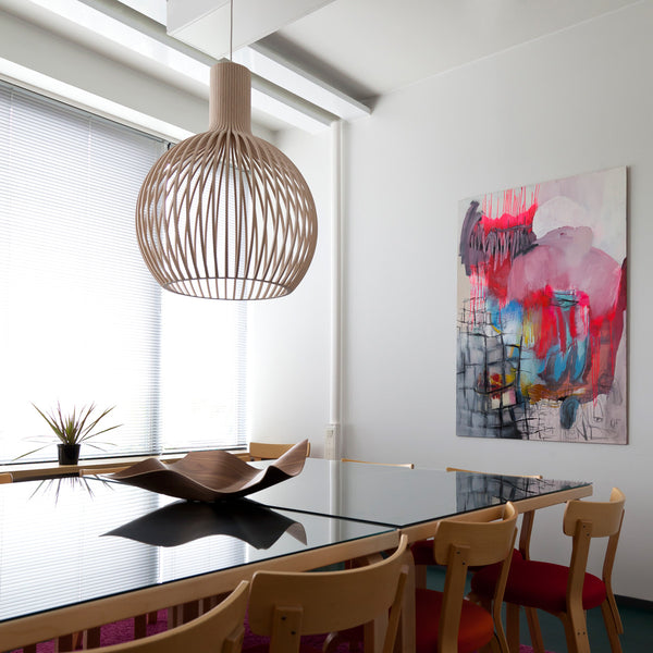 The Secto Octo 4240 pendant light. Contemporary designer lighting from Finland available from Abitalia South Coast 2