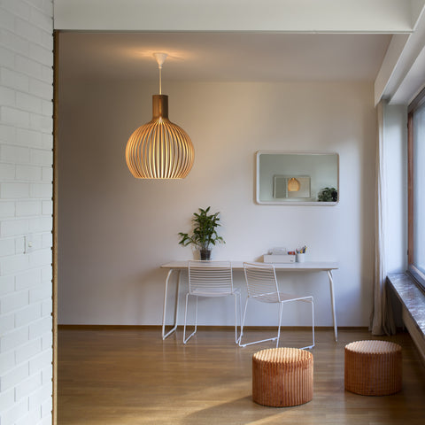 The Secto Octo 4240 pendant light. Contemporary designer lighting from Finland available from Abitalia South Coast 1