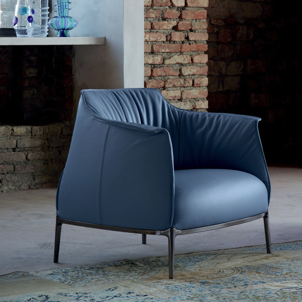 Buy the Luxury Italian Archibald armchair by Poltrana Frau online ...