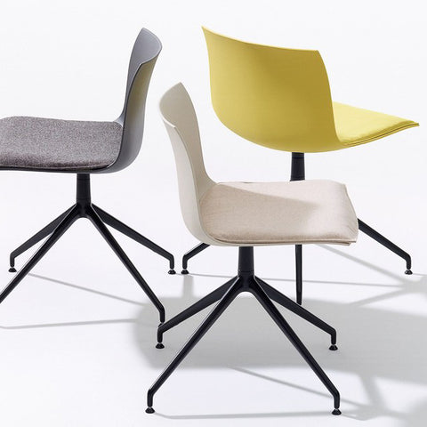 Arper Catifa 53 Trestle designer Chair by Lievore Altherr Molina