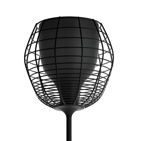 Cage Floor Lamp - Black (Ex-display) , Lights - Diesel with Foscarini, Abitalia South Coast