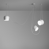 AIM suspension light White / Group of 3 AIM lights, Lights - Flos, Abitalia South Coast - 1