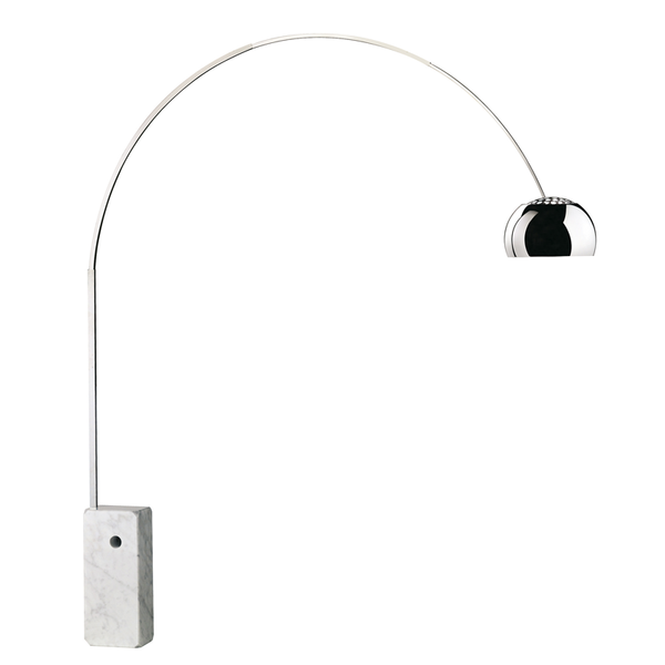 Arco contemporary floor light by Flos from Abitalia South Coast