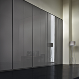 Contemporary groove hinged wardrobe , Wardrobe - Giellesse, Abitalia South Coast - 3