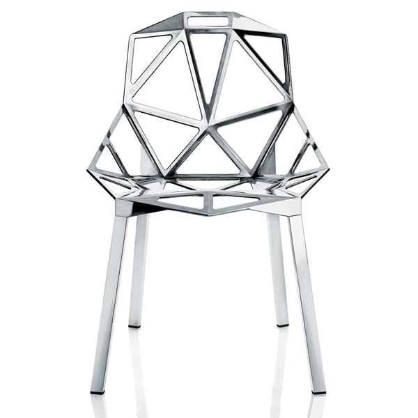 One Chair Polished aluminium, Chair - Magis, Abitalia South Coast  - 3