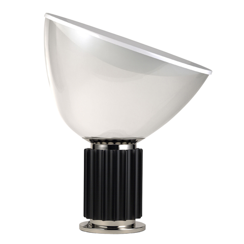 Taccia table lamp Matte black, Lights - Flos, Abitalia South Coast - 1
