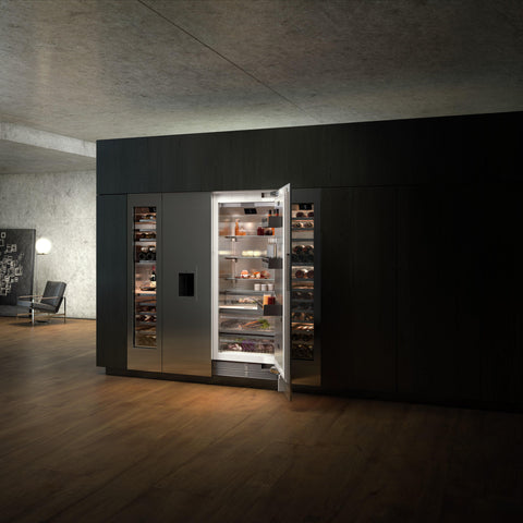 Gaggenau vario fridge-freezer combination 400 series supplied by Abitalia South Coast based in Poole, Dorset
