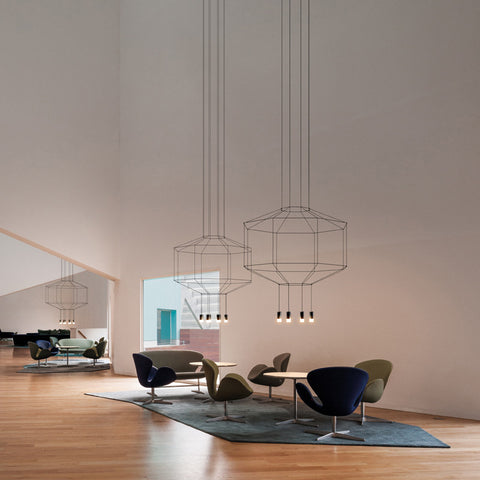 Wireflow 0299 - 0303 , Lights - Vibia, Abitalia South Coast