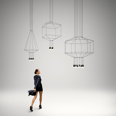Wireflow 0304 - 0308 , Lights - Vibia, Abitalia South Coast