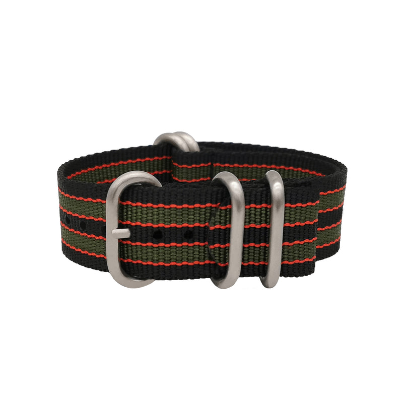 ZULU - James Bond - Black / Red / Green