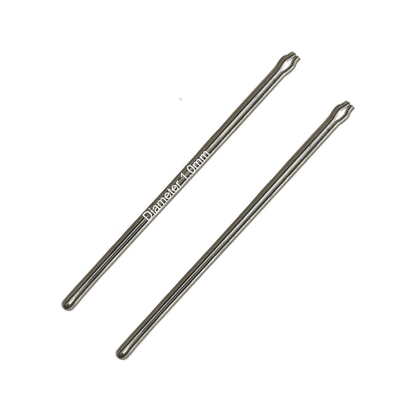 <transcy>4mm to 29mm Pins Split pins Ø 1.0mm</transcy>