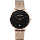 Alexandrie-09 Mesh Rose Gold Black/Rose Gold