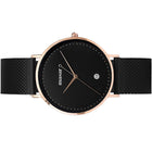 <transcy>Alexandrie-09 Mesh Black / Rose Gold</transcy>