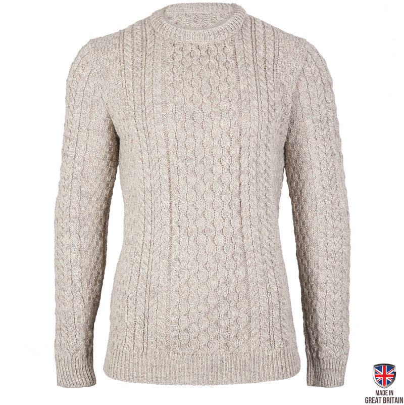 Johnson - Ash Marl British Wool Men