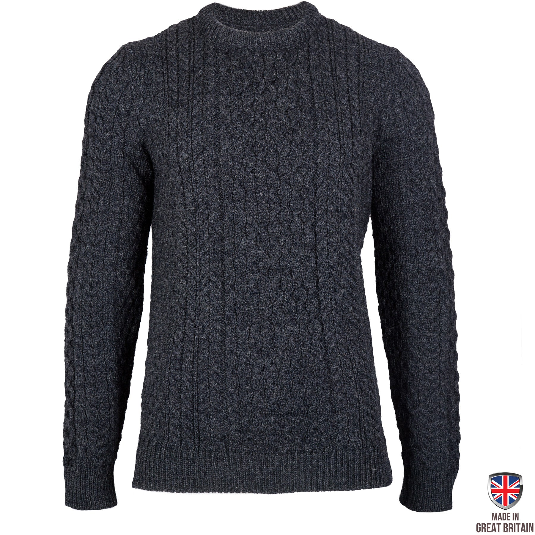 Johnson - Charcoal British Wool Men