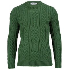 Anderson - Merino Wool Chunky Cable Sweater