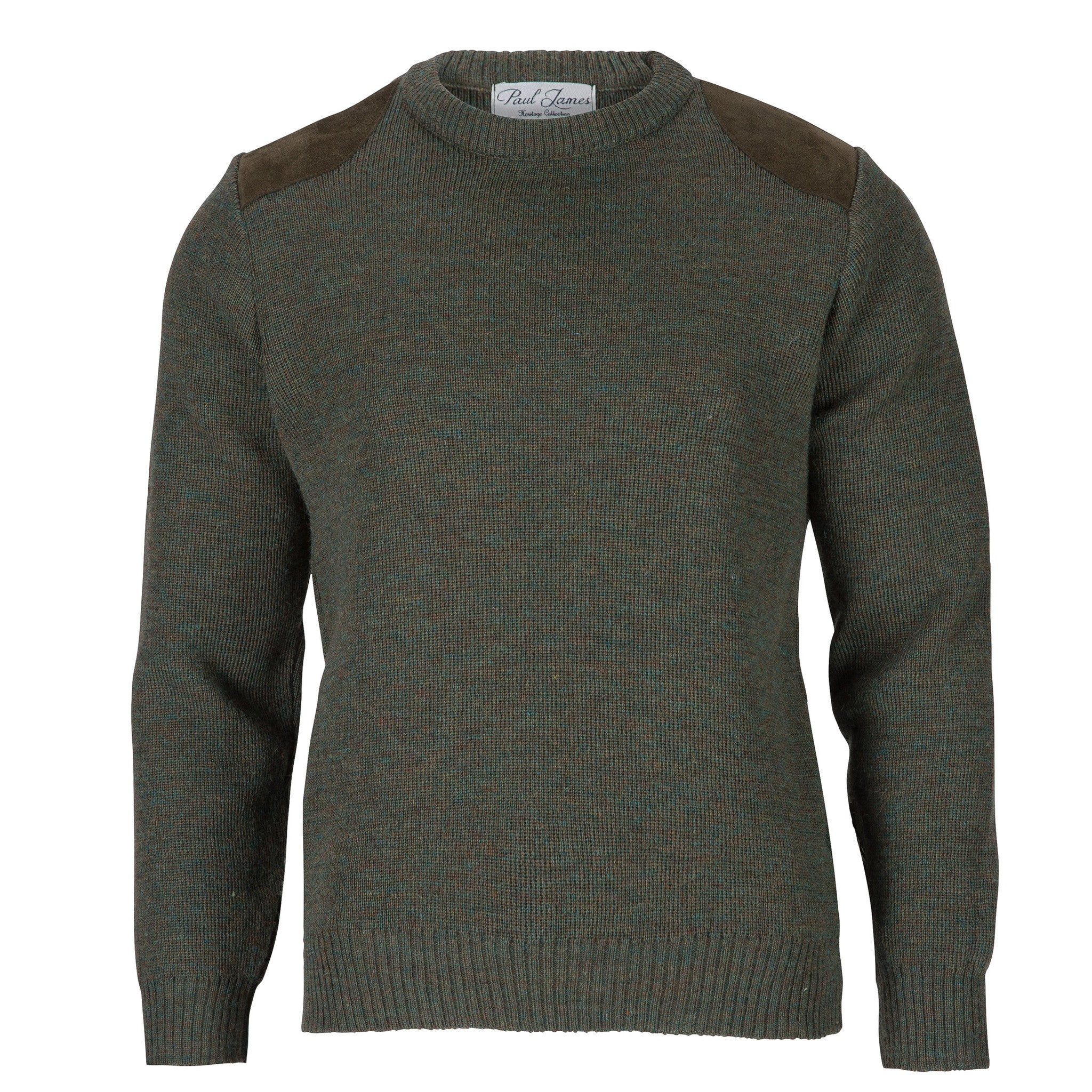Shooter Edition I - Fine Knit Jumper - Pure British Wool - Derby Tweed