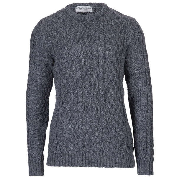 Jarvis - Anthracite Jumper Sweater - Pure British Wool
