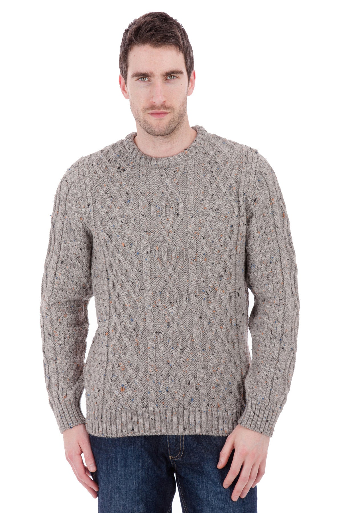 Jarvis - Braken Nepp Jumper Sweater - Pure British Wool