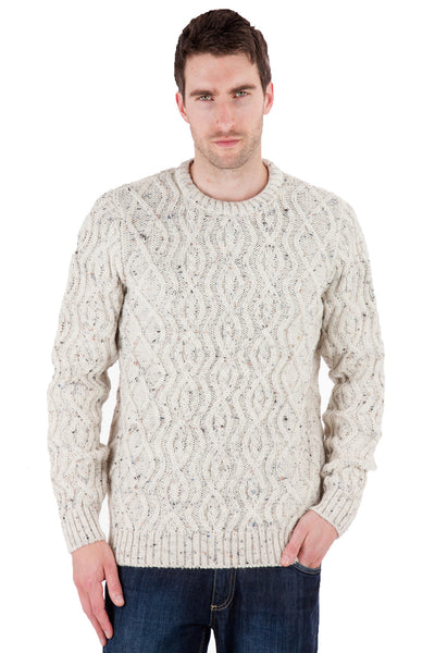 Anson - Aran Nepp Jumper Sweater - Pure British Wool