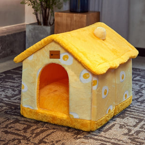 Dog & Cat Bed House for Small to medium Cats/Dogs