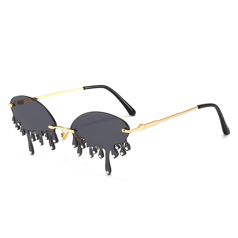 S-Maries Vintage Diamond Sunglasses UV400