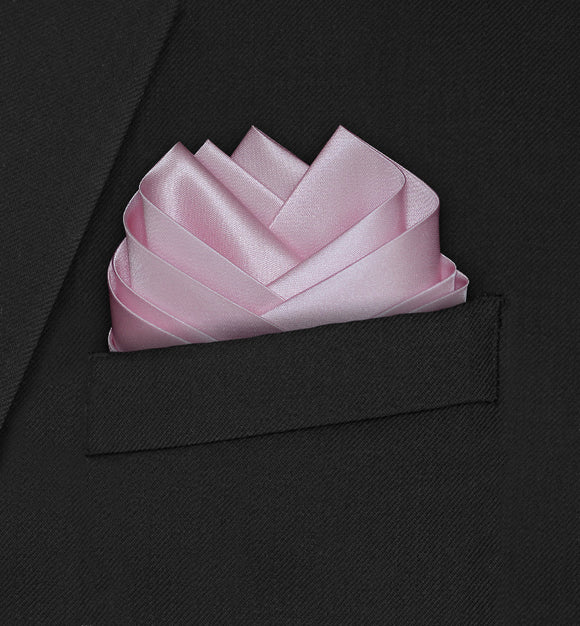 Wedding - Pink Pocket Square - Hankyz.com