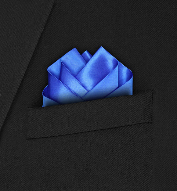 Wedding - Royal Blue Pocket Square - Hankyz.com