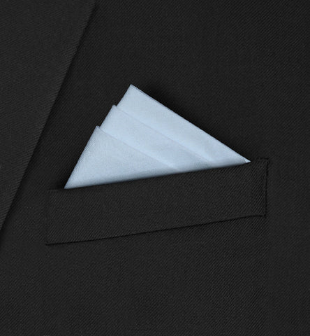 Burlington - Three fold triangle white
