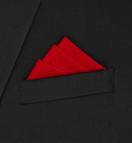 Burlington - Three fold triangle red