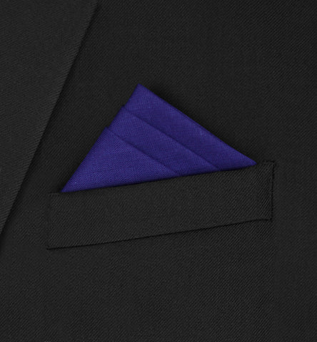 Burlington - Three fold triangle Dark Purple