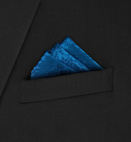 Burlington - Three fold triangle dark turquoise