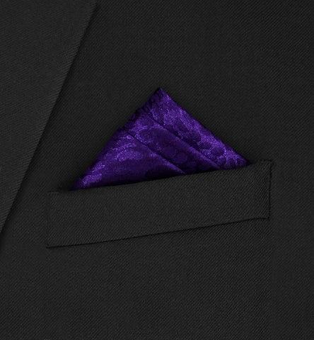 Burlington - Three fold triangle purple
